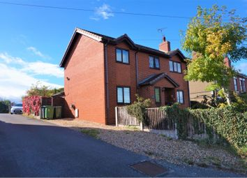 Thumbnail 4 bed detached house for sale in Bangor Road, Wrexham