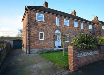 Thumbnail 3 bedroom property for sale in St Leonards Avenue, Osgodby, Selby