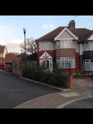 Thumbnail 3 bed semi-detached house to rent in Leamington Close, England, Greater London