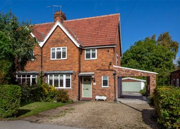 Thumbnail 3 bed semi-detached house to rent in Church Green, Elvington, York