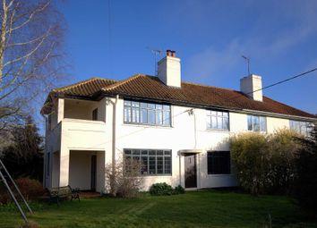 Thumbnail 3 bedroom semi-detached house for sale in Mursley Road, Swanbourne, Milton Keynes