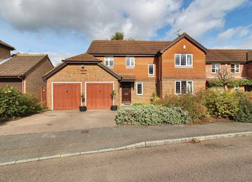 Thumbnail 4 bed detached house for sale in Saxon Road, Worth, Crawley, West Sussex