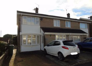 Thumbnail 3 bed semi-detached house for sale in Brynheulog, Penygaer, Llanelli