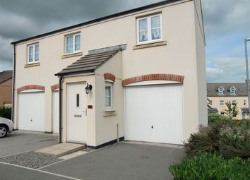 Thumbnail 2 bed flat to rent in Snowdrop Crescent, Launceston, Cornwall