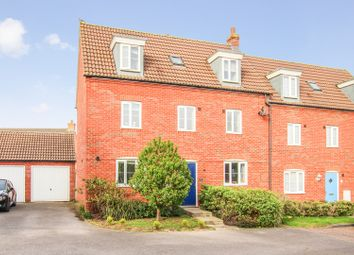 Thumbnail 5 bed semi-detached house for sale in Russet Close, Bedford