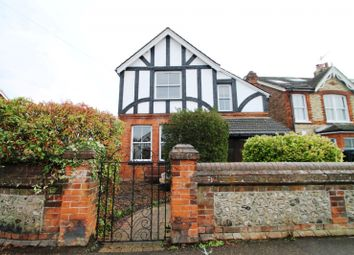 Thumbnail 3 bedroom detached house to rent in Nutfield Road, Merstham, Redhill