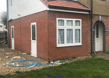 Thumbnail 1 bed semi-detached bungalow to rent in Hinton Avenue, Hounslow