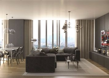 Thumbnail 3 bed flat to rent in Stratosphere Tower, 55 Great Eastern Road, London