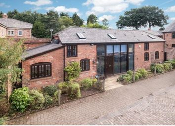 Thumbnail 3 bed detached house for sale in Crabtree Green Court Stoneyford Lane, Oakmere, Northwich