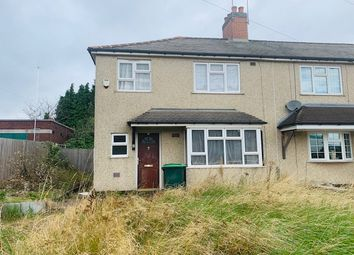 Thumbnail Semi-detached house for sale in Leabrook Road North, Wednesbury
