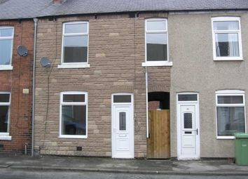 Thumbnail 3 bed terraced house to rent in Hawthorne Street, Derby Road, Chesterfield, Derbyshire