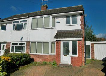 Thumbnail 3 bed semi-detached house for sale in Ashtree Croft, Willaston, Neston
