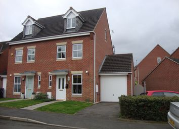 Thumbnail 3 bedroom semi-detached house for sale in Frank Bodicote Way, Swadlincote