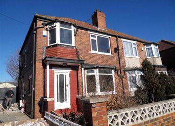 Thumbnail 3 bed semi-detached house to rent in Eden Crescent, Burley, Leeds