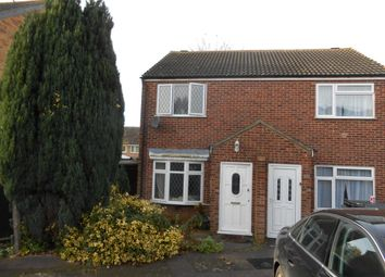 Thumbnail 2 bed property to rent in Fetlock Close, Clapham, Bedford