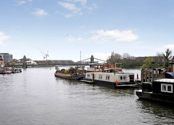 Thumbnail 1 bed houseboat for sale in The Dove Pier, Hammersmith
