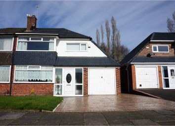 Thumbnail 3 bed semi-detached house for sale in Treen Road, Manchester