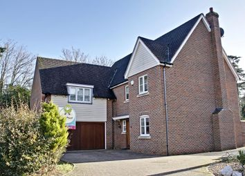 Thumbnail 5 bed detached house for sale in Burgate Crescent, Sherfield-On-Loddon, Hook