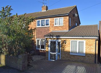 Thumbnail 3 bed semi-detached house for sale in Thornbera Close, Bishop's Stortford, Hertfordshire