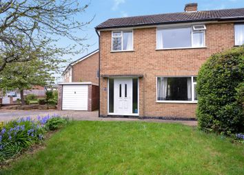 Thumbnail 3 bed semi-detached house for sale in Norfolk Avenue, Toton, Beeston, Nottingham