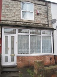 Thumbnail 3 bed terraced house to rent in Belchers Lane, Birmingham West Midlands.