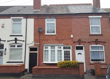 Thumbnail 2 bed terraced house for sale in Vicarage Road, Halesowen