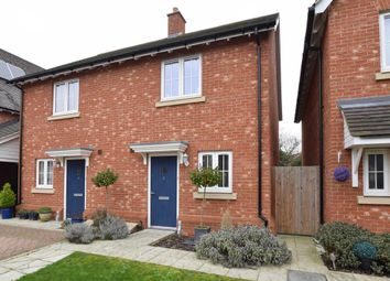 Thumbnail 2 bed semi-detached house for sale in Shrubwood Close, Maidstone, Kent