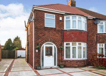 Thumbnail 3 bedroom semi-detached house for sale in Cemetery Road, Scunthorpe