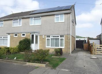 Thumbnail 4 bed semi-detached house for sale in Mendip Avenue, Worle, Weston-Super-Mare