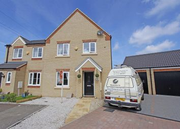 Thumbnail 3 bed semi-detached house for sale in Bath Close, Bourne
