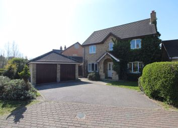 Thumbnail 4 bed detached house for sale in Embla Close, Bedford