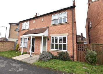 Thumbnail 2 bed semi-detached house for sale in Lilbourne Drive, York
