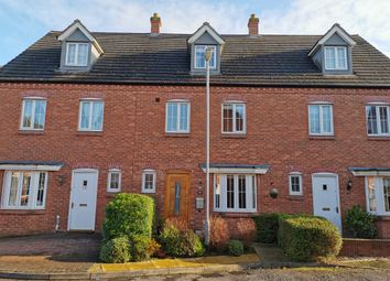 Thumbnail 4 bed terraced house for sale in Mellor Drive, Alrewas, Burton-On-Trent