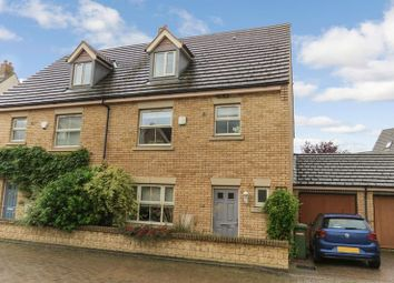 Thumbnail 4 bed semi-detached house for sale in Normangate, Ailsworth, Peterborough