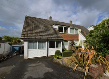 Thumbnail 3 bed semi-detached house for sale in Padacre Road, Watcombe Park, Torquay, Devon
