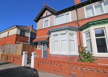 Thumbnail 3 bed semi-detached house for sale in Chaucer Road, Fleetwood