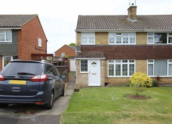 Thumbnail 3 bedroom semi-detached house for sale in Malvern Close, Woodley, Reading