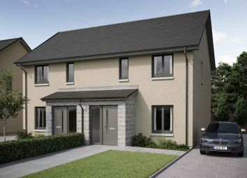 Thumbnail 3 bed semi-detached house for sale in Peregrine Drive, Inverurie