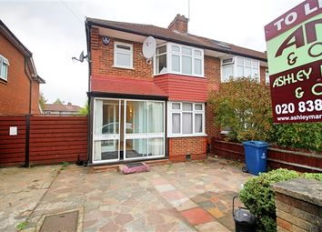 Thumbnail 3 bed end terrace house to rent in Broomgrove Gardens, Edgware
