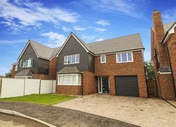 Thumbnail 4 bed detached house for sale in St Davids Park, Cramlington, Tyne And Wear
