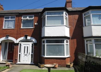 Thumbnail 3 bed terraced house for sale in Sutherland Avenue, Hull