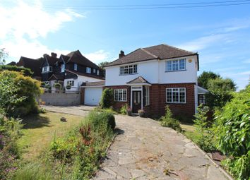 Thumbnail 3 bed detached house for sale in Burgh Wood, Banstead
