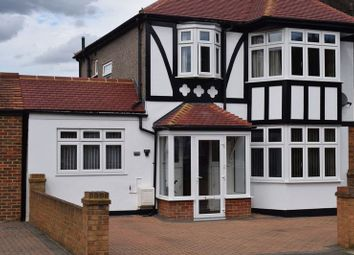 Thumbnail 4 bed semi-detached house for sale in Queens Road, Morden