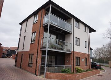 Thumbnail 2 bed flat for sale in 24 Derby Drive, West Malling