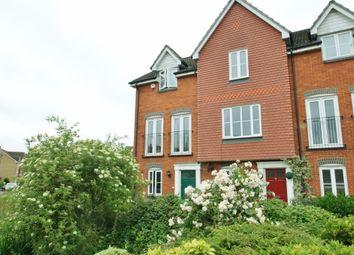 Thumbnail 3 bed town house for sale in Angus Drive, Kennington, Ashford