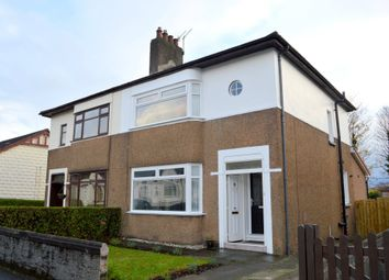 Thumbnail 3 bed semi-detached house for sale in Geils Avenue, Dumbarton