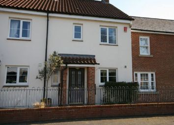 Thumbnail 3 bed terraced house to rent in Greenway, Woodbury, Exeter