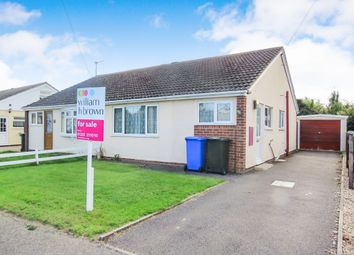 Thumbnail 2 bed semi-detached bungalow for sale in Camelot Gardens, Fishtoft, Boston