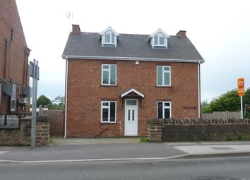Thumbnail 4 bed detached house to rent in Dovecote Road, Eastwood, Nottingham