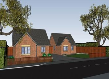 Thumbnail 2 bed bungalow for sale in Plot 1, Draycott Road, North Wingfield, Chesterfield, Derbyshire
